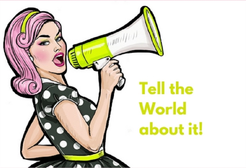 Tell the world About It Logo